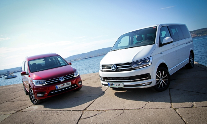 Volkswagen T6 in caddy