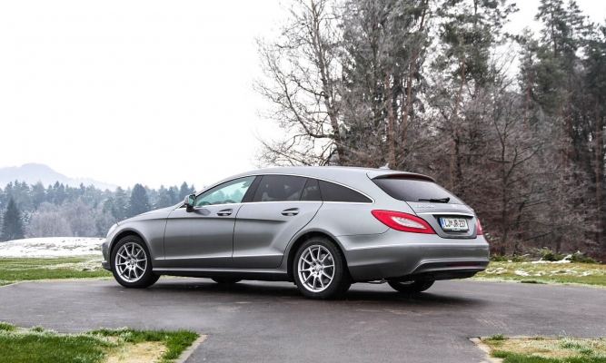 Mercedes-Benz GL in CLS shooting brake