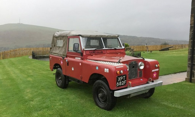 Prvi land rover z alternativnim pogonom