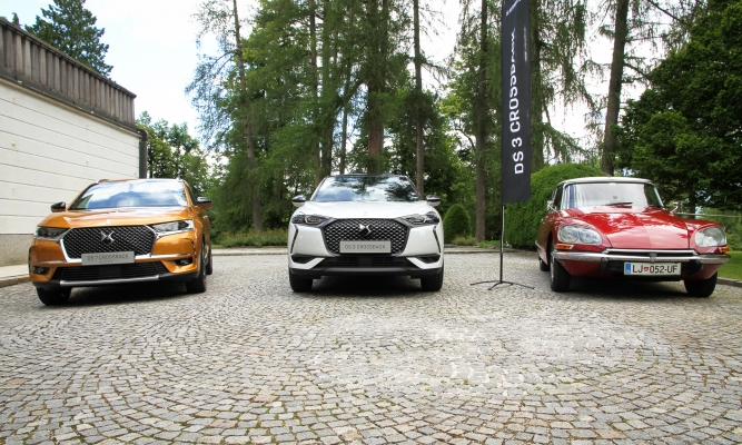 DS 3 crossback in DS 7 crossback